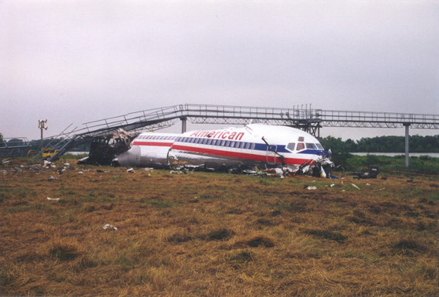 Crashed American Airlines Flight 1420