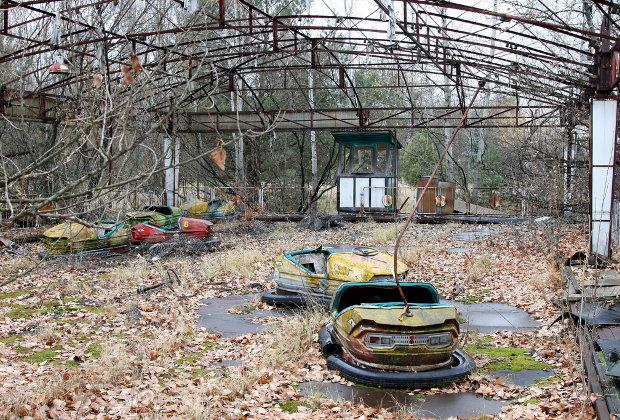 Chernobyl playground