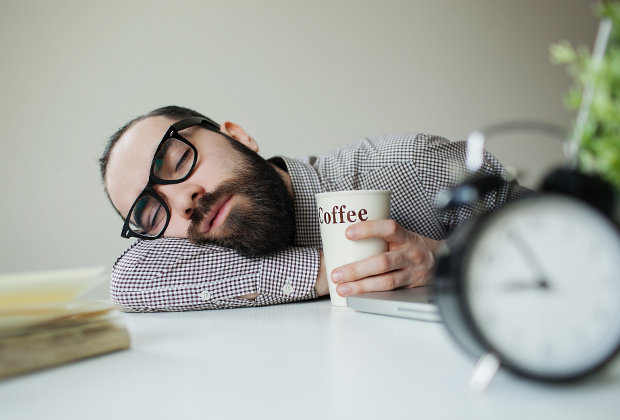 Sleep deprivation causes accidents at work